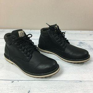 Blackwell Trading Co. Leather Lace Up Boot Shoes